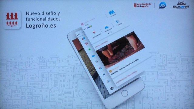 Nueva app Logroño.Es
