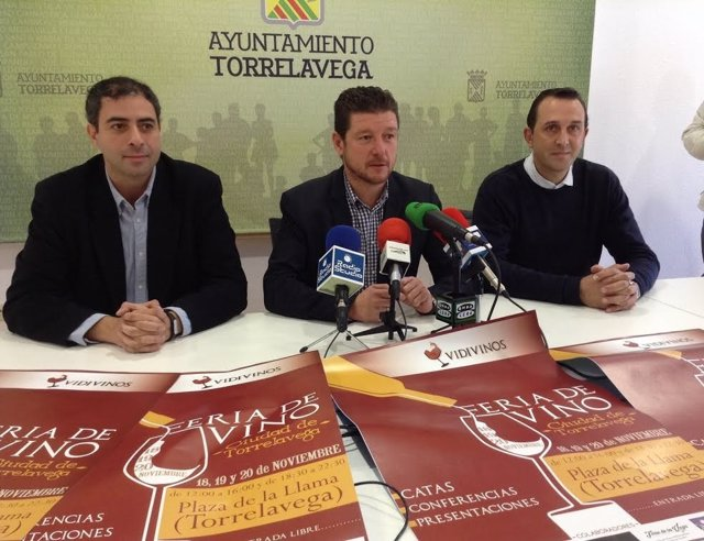 Rueda de prensa de presentación de la Feria del Vino