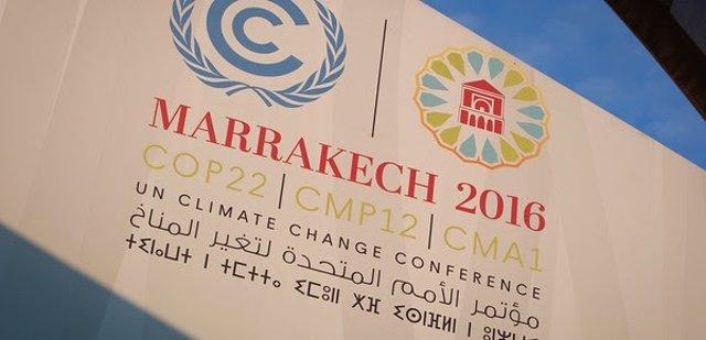 XXII Conferencia de Cambio Climático de la ONU en Marrakech