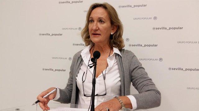 La edil popular, María Sánchez Estrella