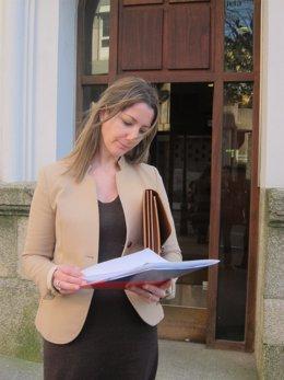 La vicepresidenta segunda de la Diputación de Lugo, Lara Méndez