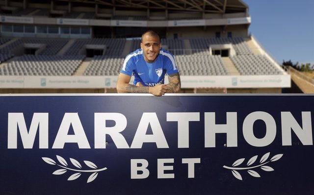 Sandro, futbolista del Málaga
