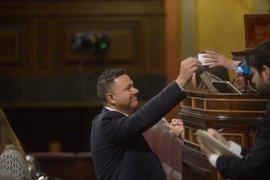 """Un diputado de Podemos agradece las """"emotivas"""" palabras del Rey hacia víctimas y policías"""