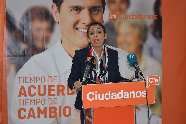 Marta Bosquet, portavoz de Ciudadanos almería y parlamentaria andaluza