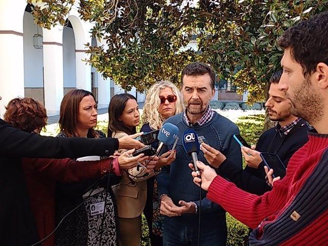 Nota De Prensa // Maíllo Llama A La Sociedad Almeriense A Movilizarse Contra Los