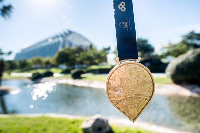 Medalla del Medio Maratón de Valencia
