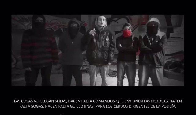 La Policía detiene a los miembros del grupo La Insurgencia