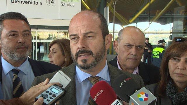 El consejero de Transporte, Vivienda e Infraestructuras de la Comunidad de Madri
