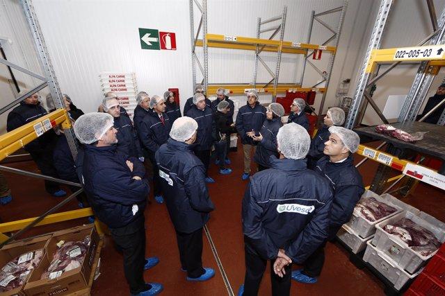 Inauguración de la plataforma logística de Uvesco