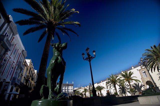 Plaza de Santa Ana de Las Palmas de Gran Canaria