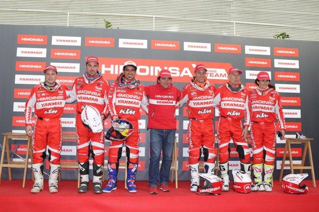 El HIMOINSA Racing Team en su presentación
