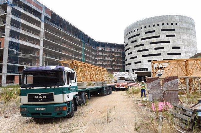 Obras nuevo hospital de Toledo