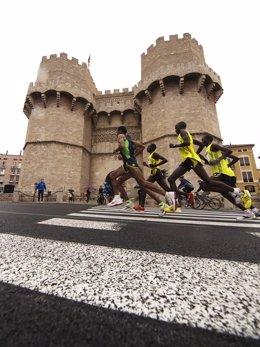 El Maratón De Valencia en 2015