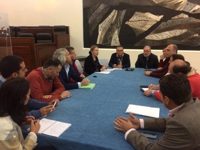 Reunión Patronato de Turismo y Empresario