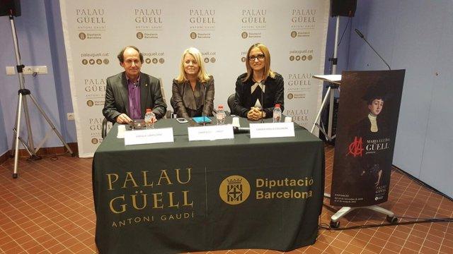 Enrique Campuzano, Carme Perella y Carmen Güell