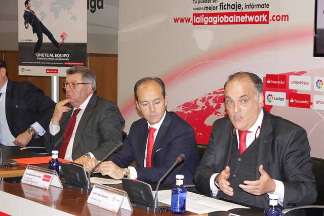 Javier Tebas, Rami Aboukhair LaLiga Global Network