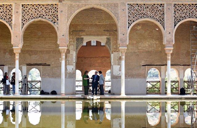 la alhambra organiza visitas guiadas gratuitas a la exposicin uel legado de alandalusu