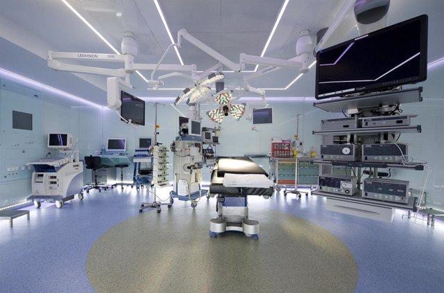 Nuevo quirófano en el Hospital Clínic