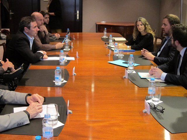 Reunión entre la Taula del Tercer Sector y la Conselleria de Economía