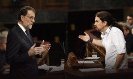 Pablo Iglesias no registra pregunta para Rajoy en su primera sesión de control