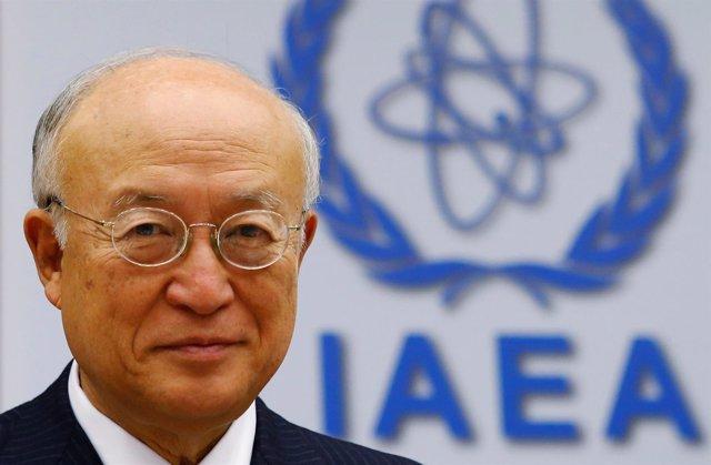 El presidente de la AIEA, Yukiya Amano.