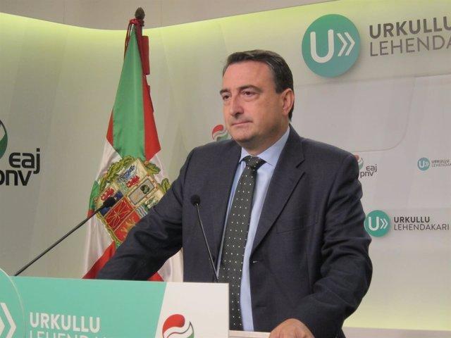 El portavoz el PNV en el Congreso de los Diputados, Aitor Esteban