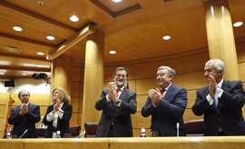 Rajoy preside el martes la reunión del PP en el Senado antes de comparecer en el Pleno