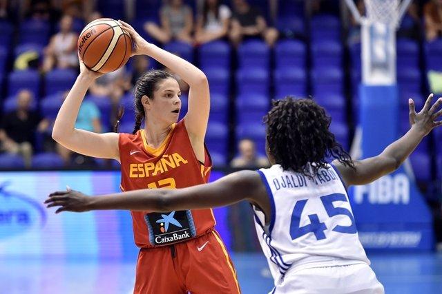 España se queda con la plata en el Europeo Sub-18 de baloncesto femenino