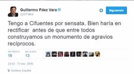 Vara pide a Cifuentes que rectifique sus palabras sobre la financiación de Andalucía