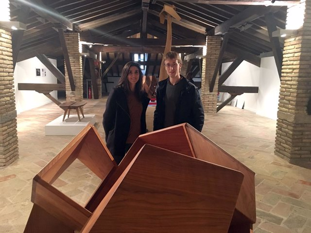 Aser Longás y Maitena Muruzábal presentan exposición.
