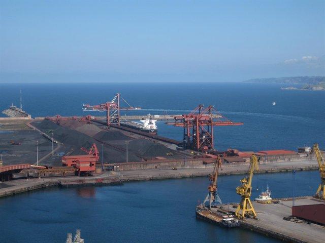 Puerto Musel, Gijón..