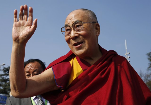 El Dalai Lama, durante una visita a la ONU en Ginebra