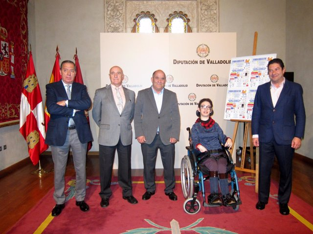 Presentación en la Diputación de la prueba ciclista.