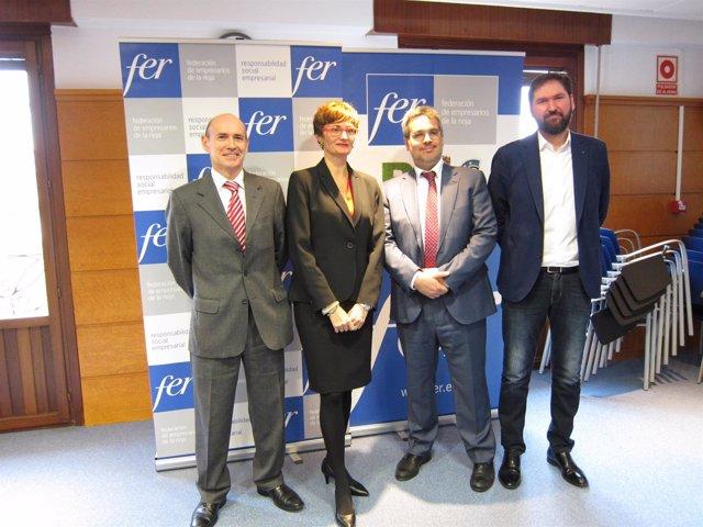 Participantes en Jornada sobre RSE en la FER