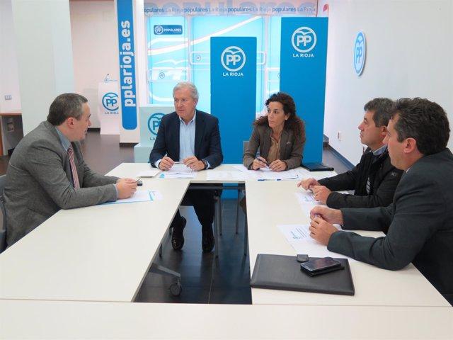 Reunión PP La Rioja con ATA