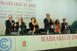 """COP22 pide elevar la ambición contra el cambio climático con un """"impulso irreversible"""""""