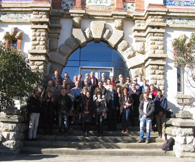 Imagen de los participantes en la jornada