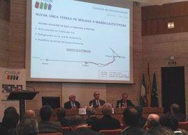 """Civisur plantea que el aeropuerto de Málaga sea puerta de Andalucía """"al mundo"""""""