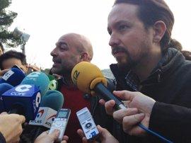 "Iglesias: Apertura de la legislatura ""no era sitio"" para desplegar la bandera republicana"