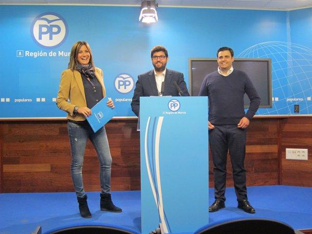 El vicesecretario del PP la Región de Murcia, Fernando López-Miras