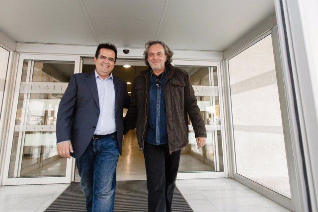 El actor José Coronado ya está en Almería.