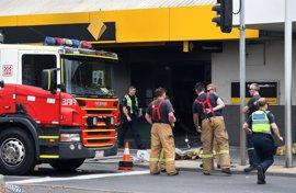 El presunto autor del incendio de la sucursal bancaria en Australia es un birmano rohingya