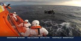 Llegan a Tarifa diez varones subsaharianos rescatados de una patera
