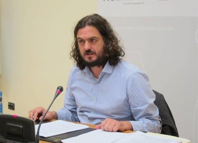 El coordinador de Anova y diputado de En Marea, Antón Sánchez