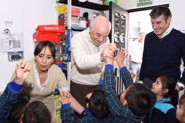 Presidente de BBVA visita a emprendedores de la Fundación Microfinanzas en Colombia