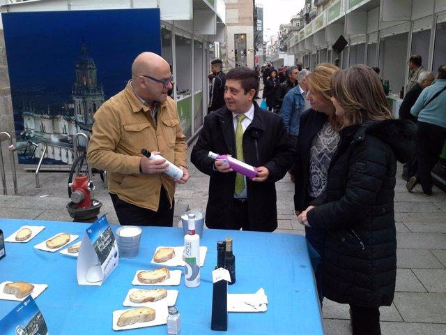 Celebración de la Fiesta del Primer Aceite de Jaén en Vigo