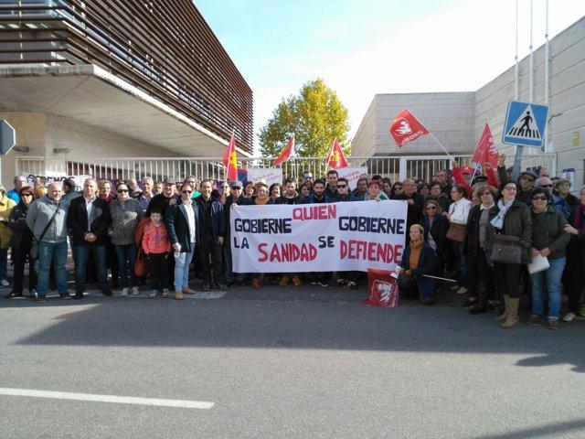 Manifestación en Torrijos