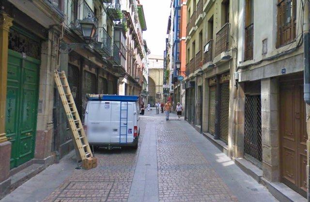 Calle Belosticalle de Bilbao