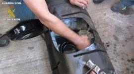 A prisión dos acusados de querer pasar desde Melilla a Andalucía más de 45 kilos de hachís