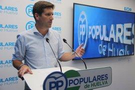 """PP lamenta """"abandono"""" de Junta ante """"situación límite"""" del sector del marisqueo de Huelva"""